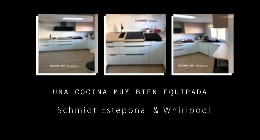Schmidt & Whirlpool para una cocina muy especial