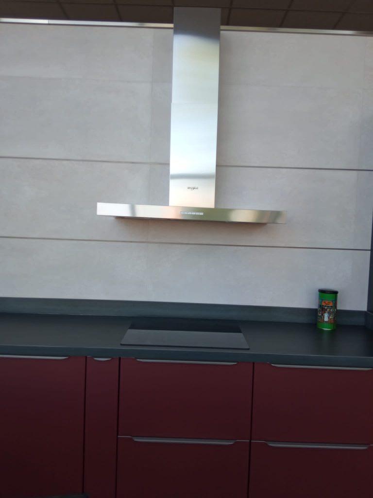 Whirlpool inox proyecto cocina
